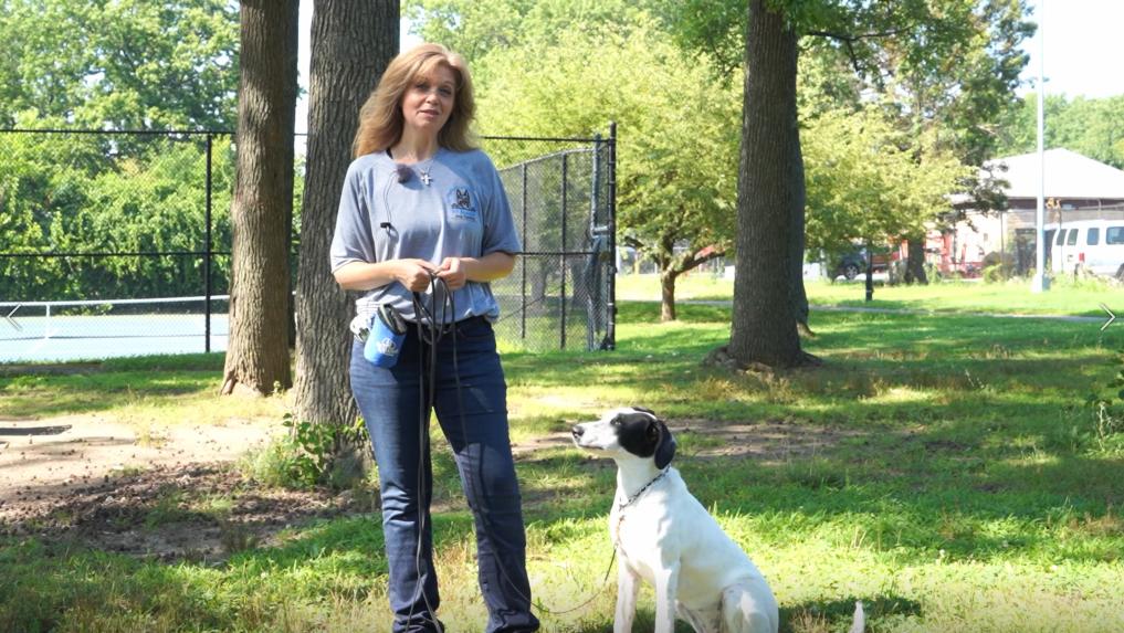 Dog trainer Janine
